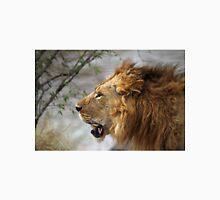 Profile Portrait, Large Male Lion, Maasai Mara, Kenya Unisex T-Shirt