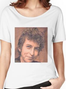 PORTRAIT OF BOB DYLAN Women's Relaxed Fit T-Shirt