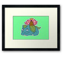Venusaur Framed Print
