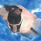 """""""When Pigs Fly""""  by ArtThatSmiles"""