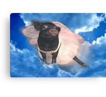 """""""When Pigs Fly""""  Canvas Print"""