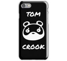 Tom Crook (White) iPhone Case/Skin
