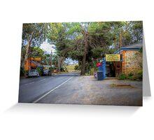 Main Street - Kanmantoo, The Adelaide Hills, South Australia Greeting Card
