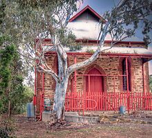 Community - Town Hall, Kanmantoo, The Adelaide Hills by Mark Richards