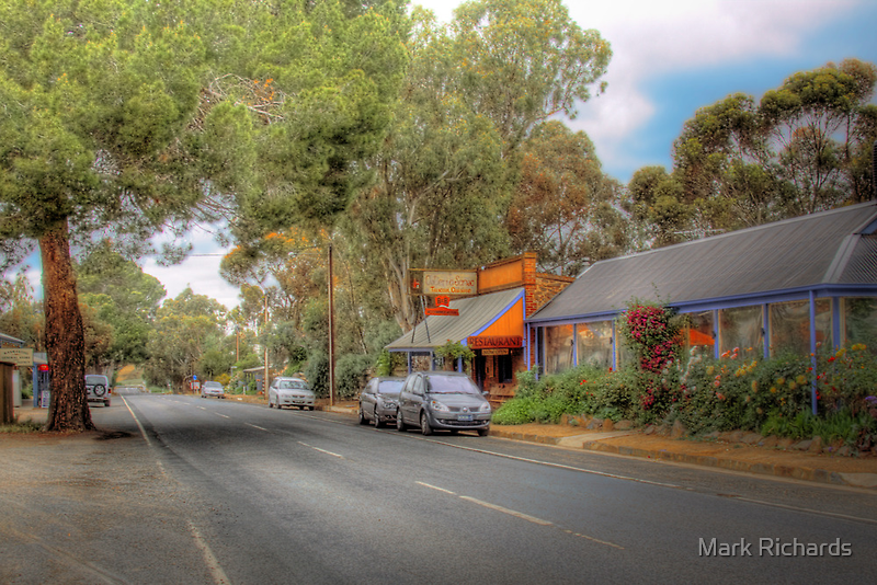 Don't Blink! - Main Street, Kanmantoo, The Adelaide Hills by Mark Richards