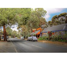 Don't Blink! - Main Street, Kanmantoo, The Adelaide Hills Photographic Print