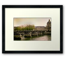 Seine of Old Framed Print