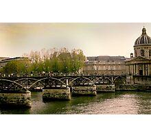 Seine of Old Photographic Print