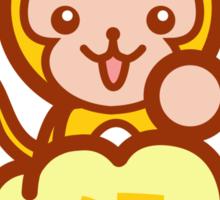 Lucky Monkey Sticker