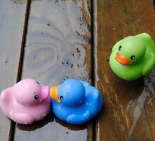Three's a Crowd... by laruecherie