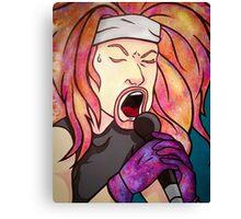Glam Rock Days Canvas Print