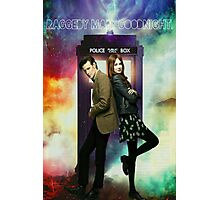 11th Doctor and Amelia Pond Photographic Print