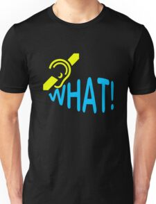 Deaf What Awareness Unisex T-Shirt