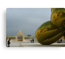 Jeff Koons at Chateau de Versailles Canvas Print