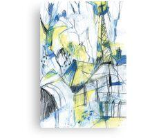 radio tower Canvas Print