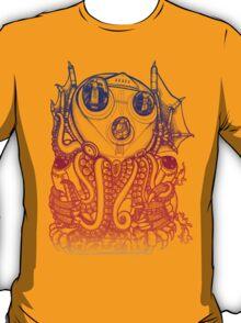 Cthulhu -Corporate Madness- cat version 2 T-Shirt