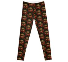 Bury me with the Roses Leggings