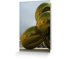Jeff Koons Sculpture Greeting Card