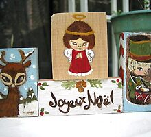Christmas blocks by carla zamora