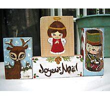 Christmas blocks Photographic Print