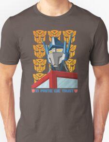 In Prime We Trust Unisex T-Shirt