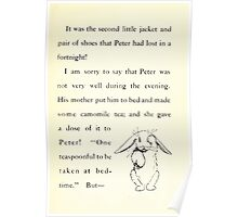 The Tale of Peter Rabbitt Beatrix Potter 1916 0057 Second Pair of Shoes Lost in a Fortnight Poster