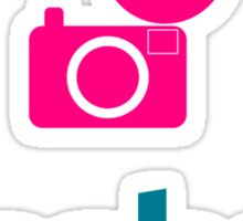 Flasher Photographer Sticker