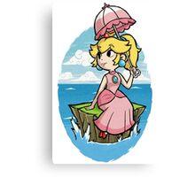 Wind Waker Princess Peach Canvas Print