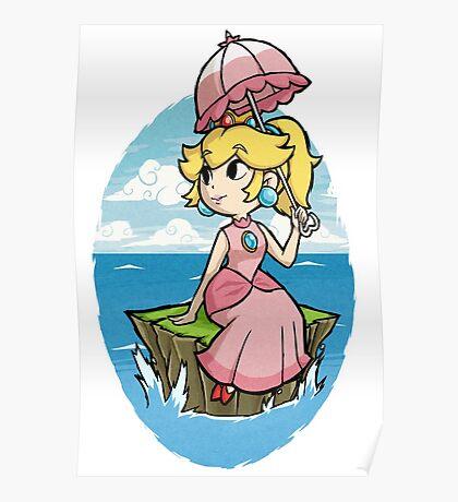 Wind Waker Princess Peach Poster
