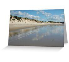 Dune Wall (Beechford) Greeting Card