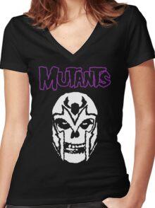 Mutants Women's Fitted V-Neck T-Shirt