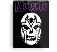 Mutants Metal Print