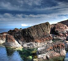 Great rocks at Rua Reidh nr Gairloch by Christopher Cullen