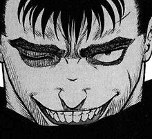 Berserk - Guts smile by TriplePositive