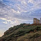 Cape Sounion - The Temple by StamatisGR