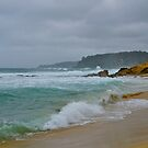 Stormy seas, Bermagui, NSW. by johnrf