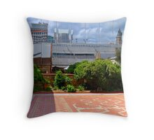 Reflections in Adelaide Throw Pillow