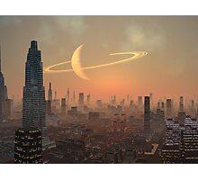 Hot Summer Night in Alien City Photographic Print
