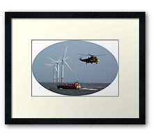 Lifesavers Framed Print