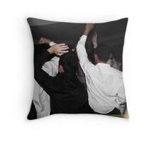 Partying Throw Pillow
