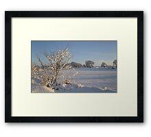 Winter Scene Dalmeny Framed Print