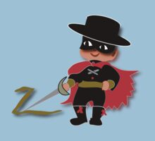 Retro Kid Billy features the legendary Zorro  Kids Clothes