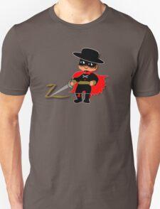 Retro Kid Billy features the legendary Zorro  T-Shirt