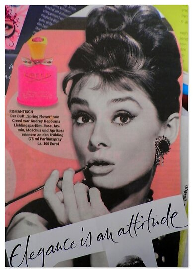 Elegance is an attitude ~ Tribute to Audrey  by ©The Creative  Minds