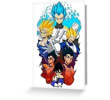Saiyan pride Greeting Card