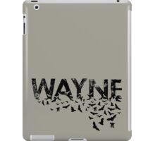 Batty Wayne - Black iPad Case/Skin