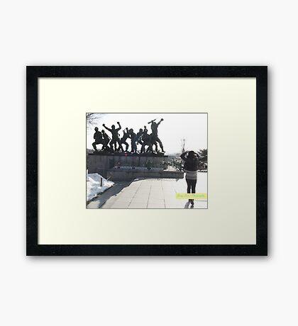 Heros Framed Print