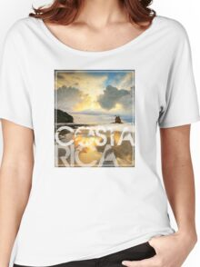 Costa Rica roca bruja Women's Relaxed Fit T-Shirt