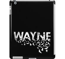 Batty Wayne - White iPad Case/Skin