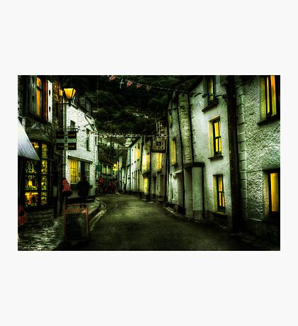 Cornish Street Photographic Print